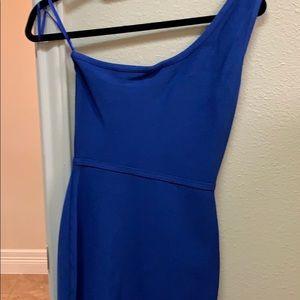 One-shoulder BCBG Maxaria Dress Size S